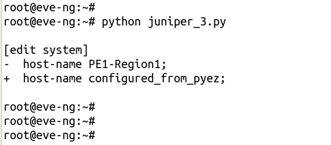 Juniper Network Automation using Python–Part 2 – The Networker